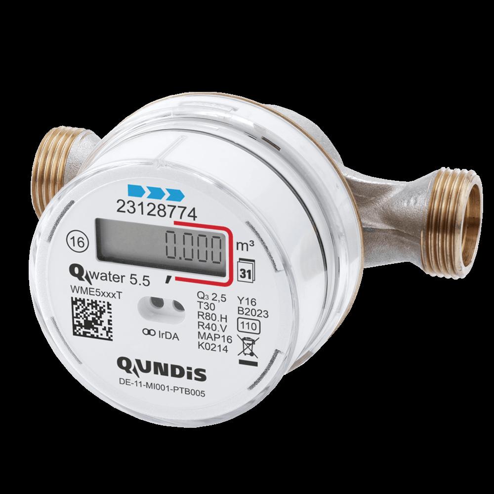 Qundis elektronischer Wasserzähler Water 5.5